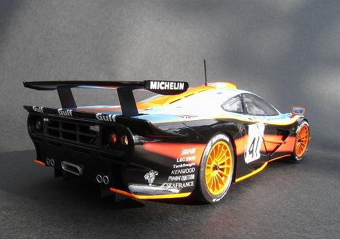 アオシマ マクラーレンF1 GTR ガルフ